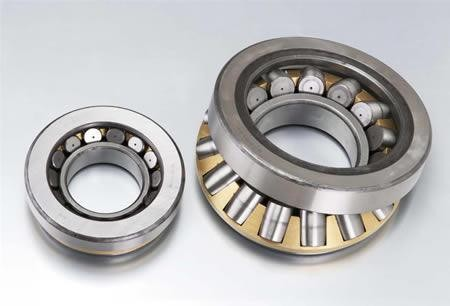 MG305DDB Forklift Bearing / Round Outer Surface Bearing With Retainer 25x76.2x25.4mm
